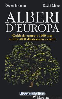 ALBERI D'EUROPA - JOHNSON OWEN; MORE DAVID