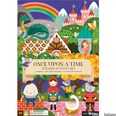Once Upon A Time Sticker Activity Set - PETITCOLLAGE