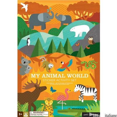 My Animal World Sticker Activity Set - PETITCOLLAGE