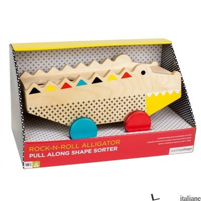 Rock-N-Roll Alligator Pull Along Shape Sorter - PETITCOLLAGE