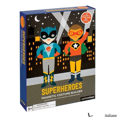 Superheroes Magnetic Dress Up - PETITCOLLAGE