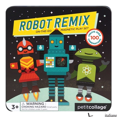 Robot Remix Magnetic Play Set - PETITCOLLAGE