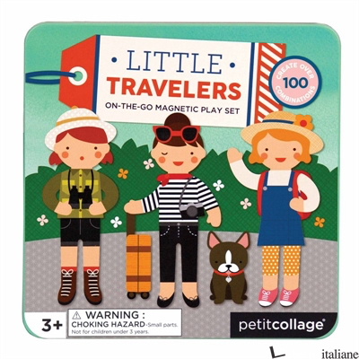Little Travelers Magnetic Play Set - PETITCOLLAGE