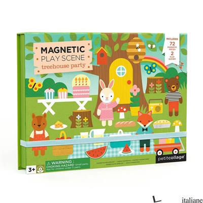 Treehouse Party Magnetic Play Scene - PETITCOLLAGE
