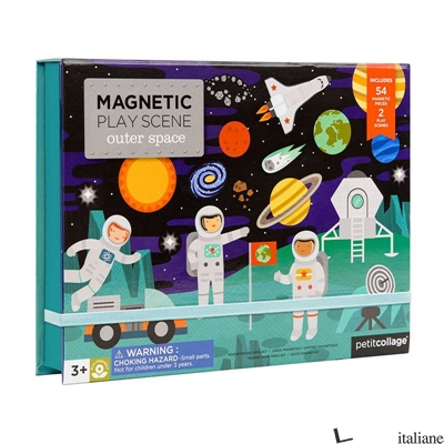 Outer Space Magnetic Play Scene - PETITCOLLAGE
