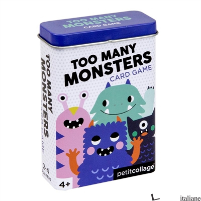 Too Many Monsters Card Game - PETITCOLLAGE