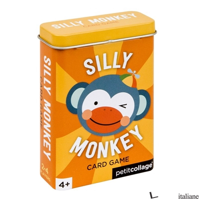 Silly Monkey Card Game - PETITCOLLAGE