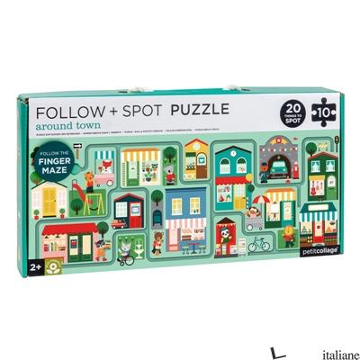 Around Town Follow + Spot Puzzle - PETITCOLLAGE