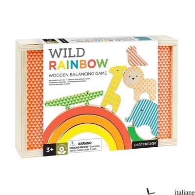 Wild Rainbow Wooden Balancing Game - PETITCOLLAGE