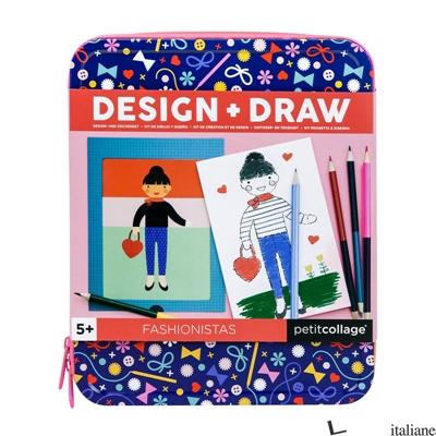 Design + Draw Fashionistas - PETITCOLLAGE