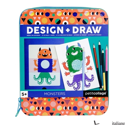 Design + Draw Monsters - PETITCOLLAGE