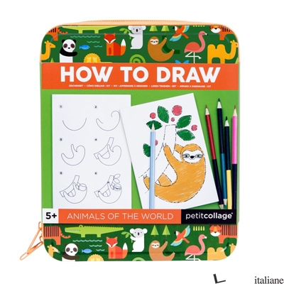 How to Draw Animals of the World - PETITCOLLAGE