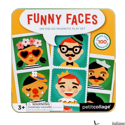Funny Faces Magnetic Play Set - PETITCOLLAGE