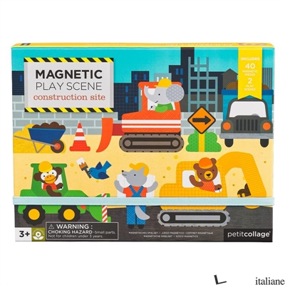 Construction Magnetic Play Scene - PETITCOLLAGE