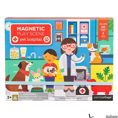 Pet Hospital Magnetic Play Scene - PETITCOLLAGE