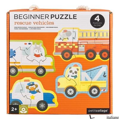 Rescue Vehicles Beginner Puzzle - PETITCOLLAGE