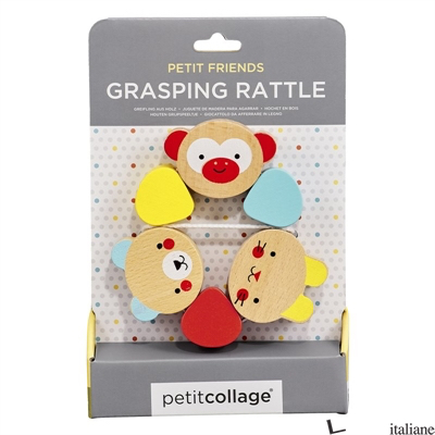 Petit Friends Wooden Grasping Toy - PETITCOLLAGE