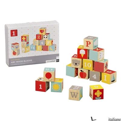 ABC Wood Blocks - PETITCOLLAGE