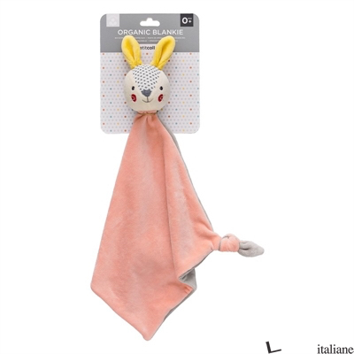 Baby Bunny Organic Cotton Blankie - PETITCOLLAGE