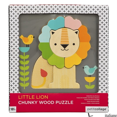 Little Lion Chunky Wood Puzzle - PETITCOLLAGE