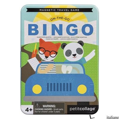 Travel Bingo Magnetic Travel Game - PETITCOLLAGE