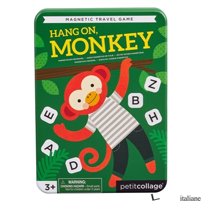 Hang On Monkey Magnetic Travel Game - PETITCOLLAGE