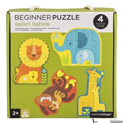 Safari Babies Beginner Puzzle - PETITCOLLAGE