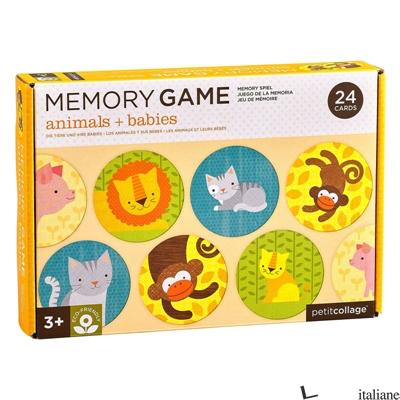 Animals + Babies Memo Game - PETITCOLLAGE
