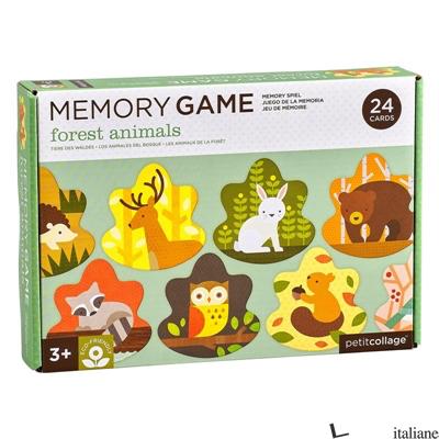 Forest Animals Memo Game - PETITCOLLAGE