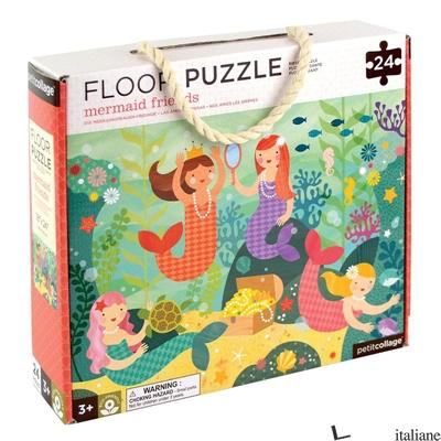 Mermaid Friends Floor Puzzle - PETITCOLLAGE