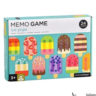 Ice Pops Memo Game - PETITCOLLAGE