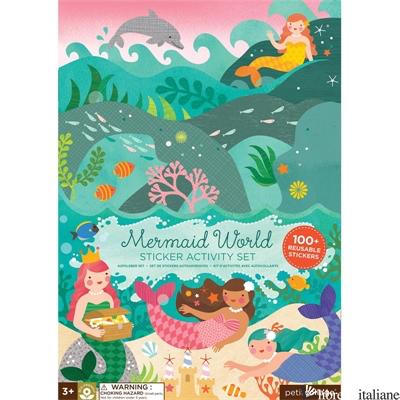 Mermaid World Sticker Activity Set - PETITCOLLAGE