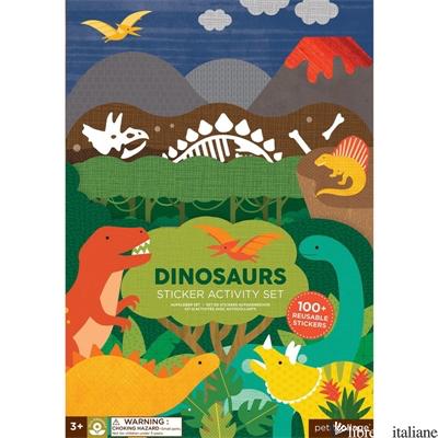 Dinosaurs Sticker Activity Set - PETITCOLLAGE