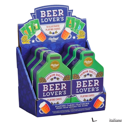 Beer Lover's Playing Cards CDU of 6 - Ridleys