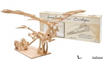 Da Vinci Ornithopter (wooden Kit) - Aa.Vv
