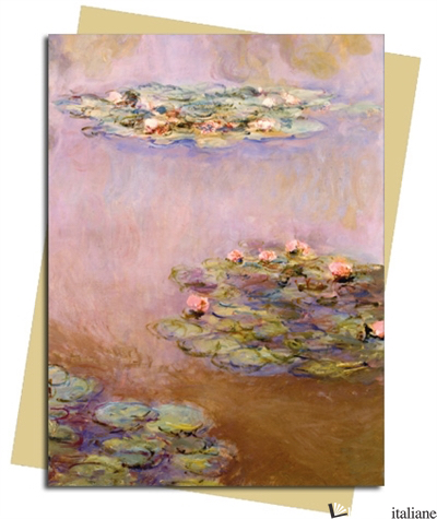Monet: Water Lilies - FLAME TREE