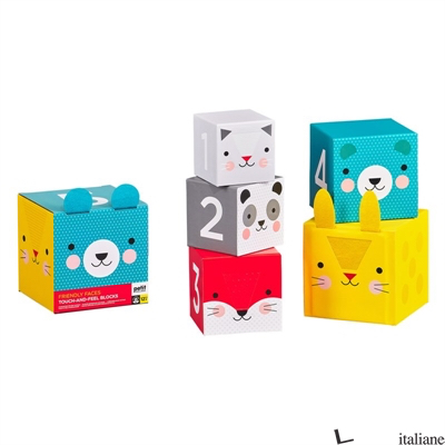 Touch And Feel Nesting Blocks - PETITCOLLAGE
