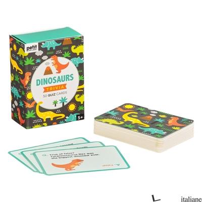 Dinosaur Trivia Cards - PETITCOLLAGE
