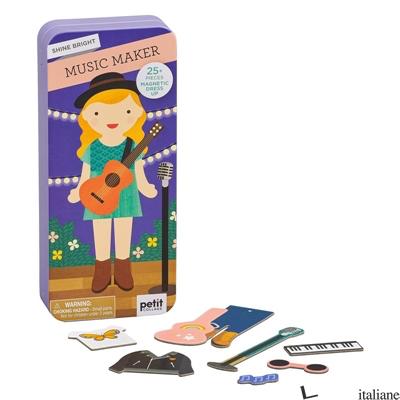 Shine Bright Music Maker Magnetic Dress Up - PETITCOLLAGE