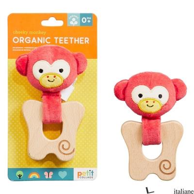 Cheeky Monkey Organic Teether - PETITCOLLAGE