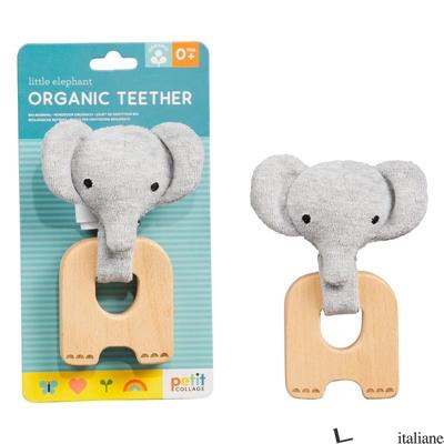 Little Elephant Organic Teether - PETITCOLLAGE