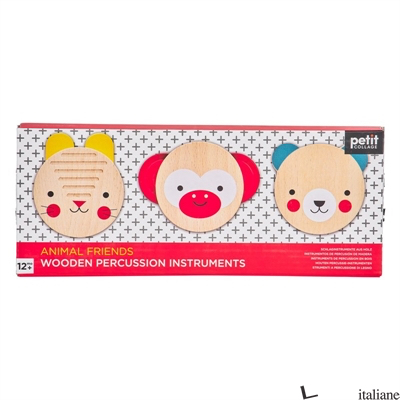 Animal Friends Wooden Musical Percussion Set - PETITCOLLAGE