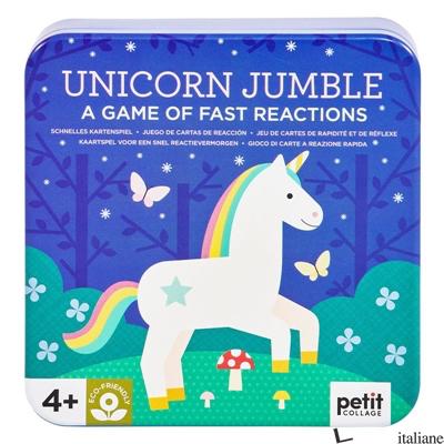 Unicorn Jumble Card Game - PETITCOLLAGE