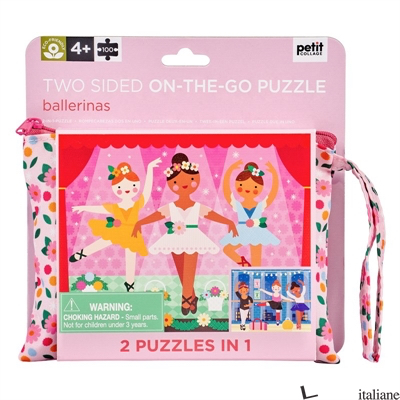 Two Sided On-the- Go Puzzle Ballerinas - PETITCOLLAGE