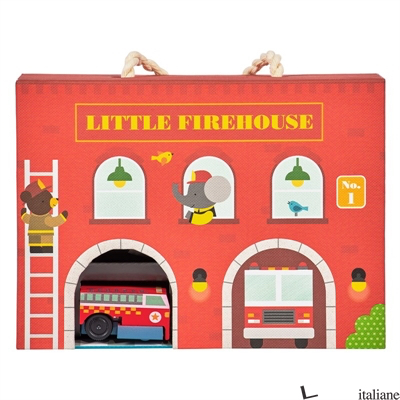 Firehouse Wind Up and Go Playset - PETITCOLLAGE