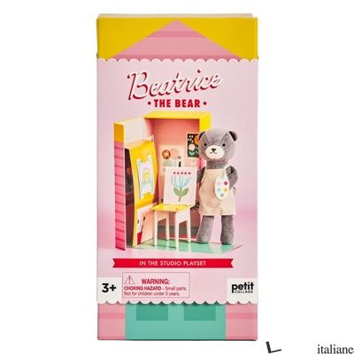 Beatrice the Bear In the Studio Plush Play Set - PETITCOLLAGE