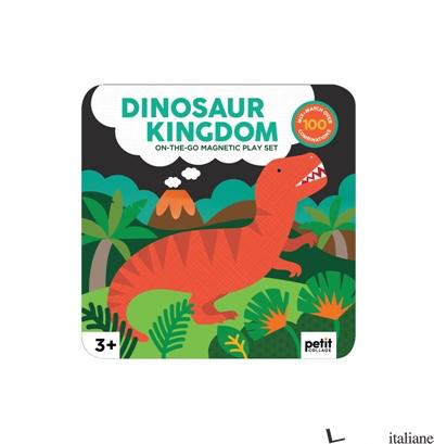 Dinosaur Kingdom Magnetic Play Set - PETITCOLLAGE