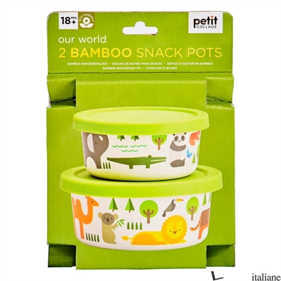 Our World Bamboo Snack Pots - PETIT COLLAGE