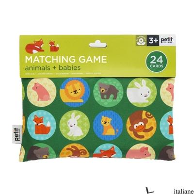 Animals + Babies Matching Game - PETITCOLLAGE