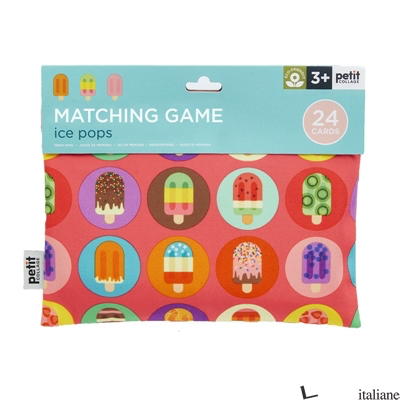 Ice Pops Matching Game - PETITCOLLAGE